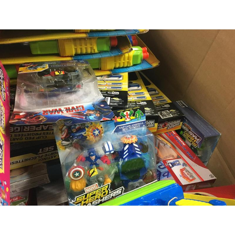 Pallet of Mixed Toy Returns GRADE A,  Branded - RRP Value £3220